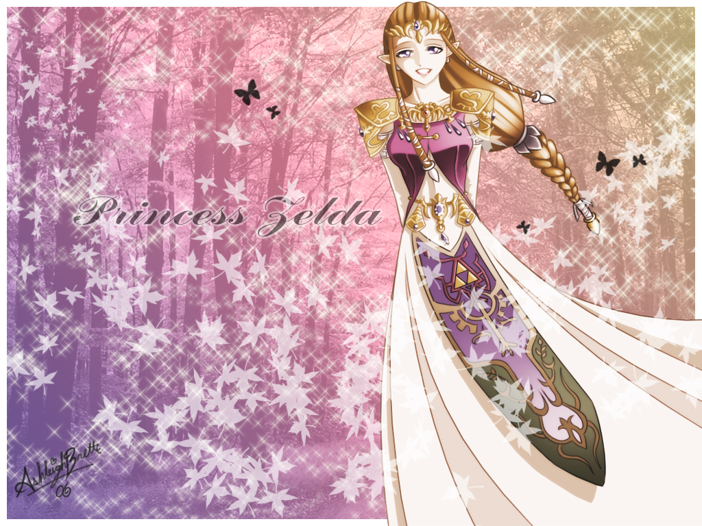 Princess Zelda Wallpaper by UNIesque 1024x768