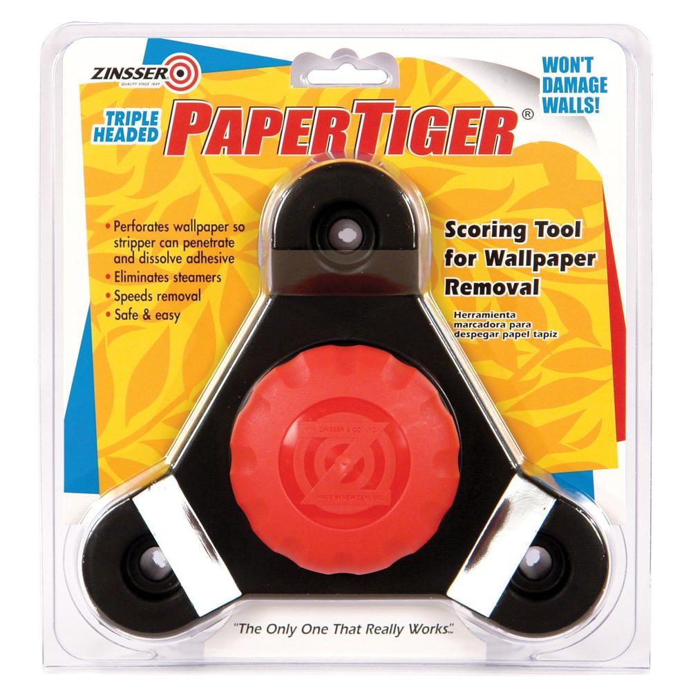 Zinsser Paper Tiger Triple Head Scoring Tool Case of 3 2976 1000x1000