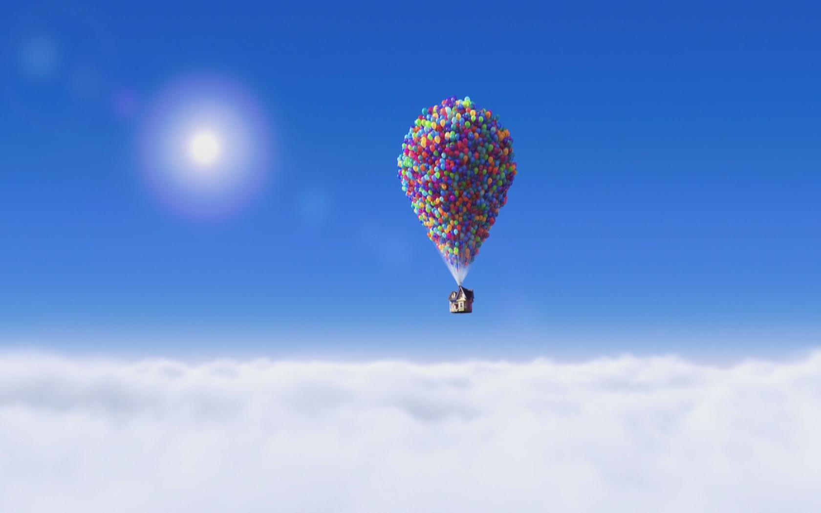 Pixars UP Wallpaper 1680x1050