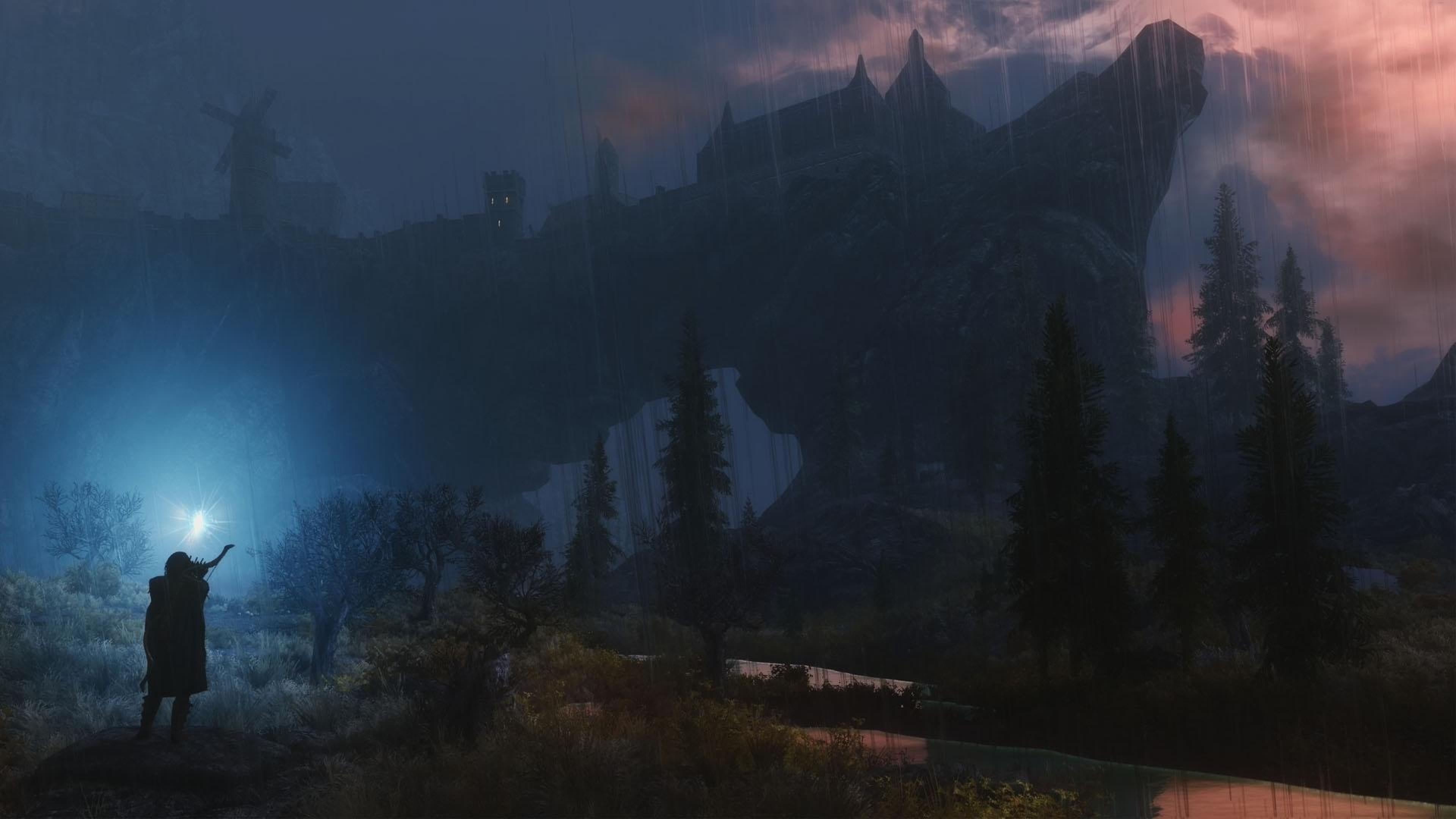The Elder Scrolls V Skyrim Backgrounds 4K Download 3840x2160