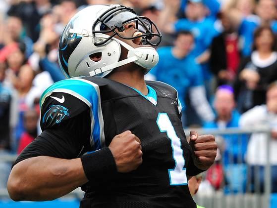 Cam Newton has 72 yard touchdown against Atlanta Falcons [video] 559x421