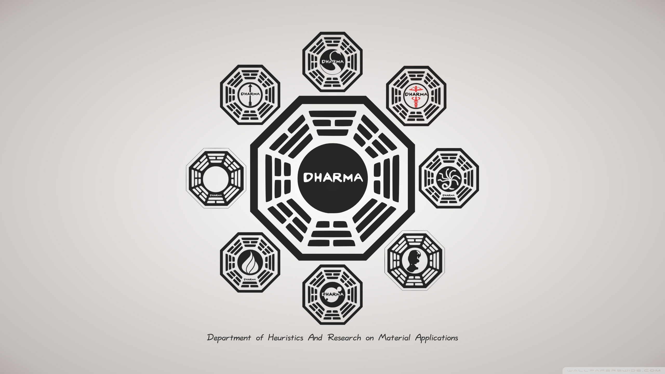 Lost TV Series Dharma 4K HD Desktop Wallpaper for 4K Ultra HD 2560x1440