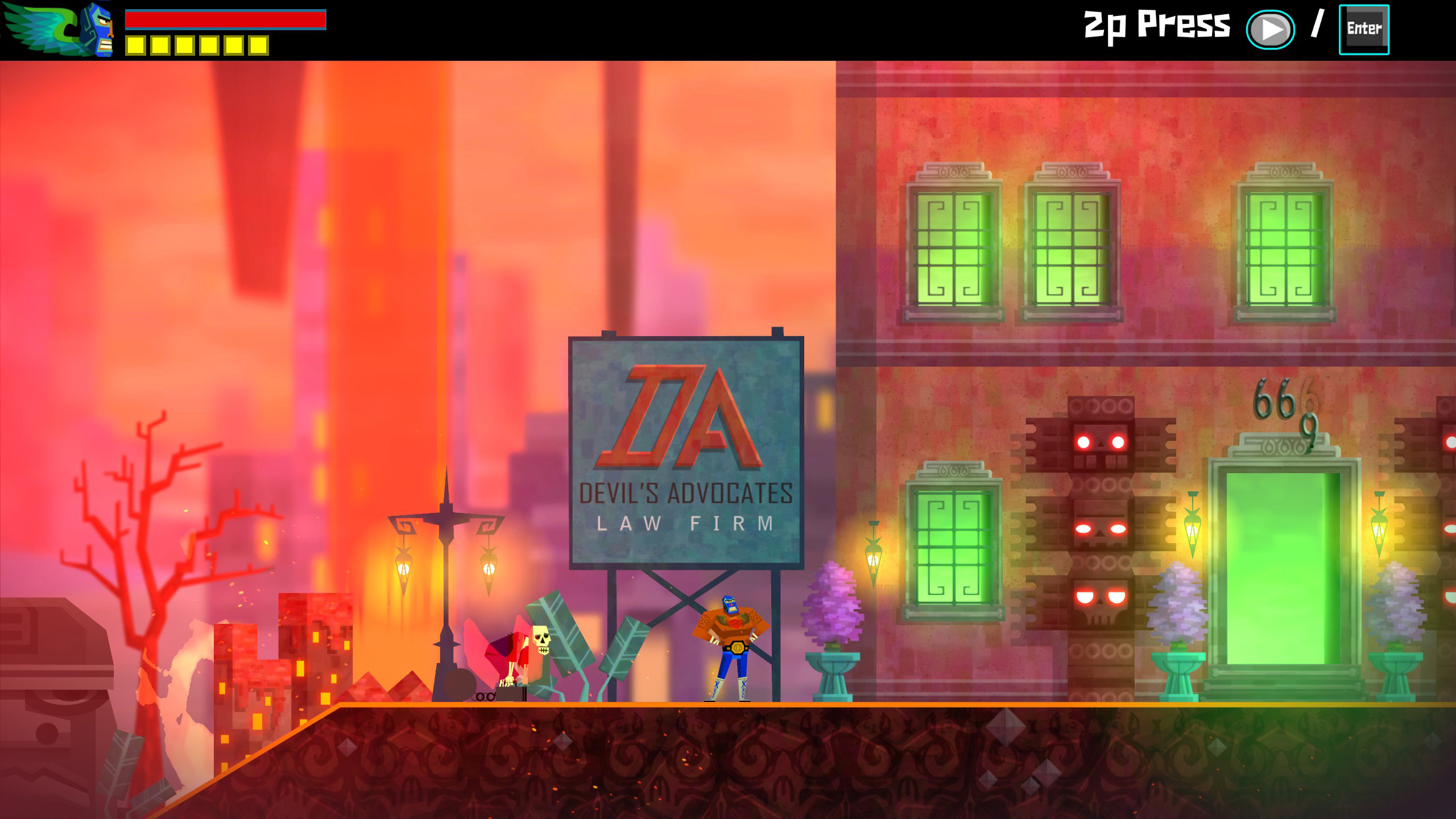 Review Guacamelee Gold Edition   Hardcore Gamer 2560x1440