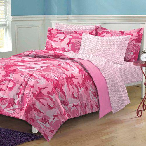 Camo Bedroom Ideas Pink camouflage bedroom decor 500x500
