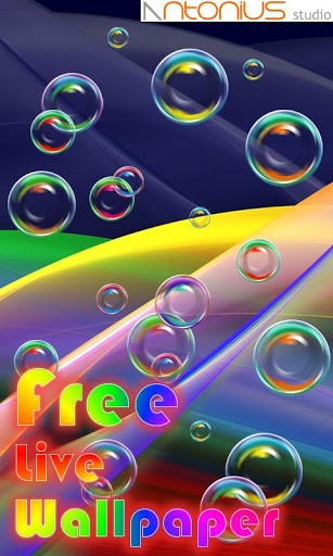View bigger   Bubble Live Wallpaper for Android screenshot 307x512