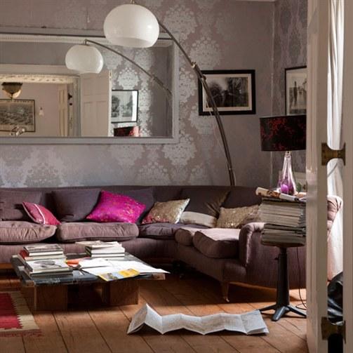 Living Room Wallpaper   Decorating a Living Room Wallpaper Design 503x503