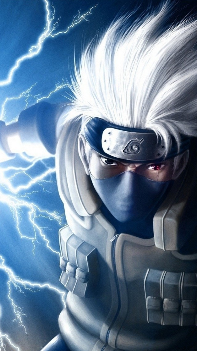 Kakashi Hatake iPhone 5 Wallpaper 640x1136 640x1136