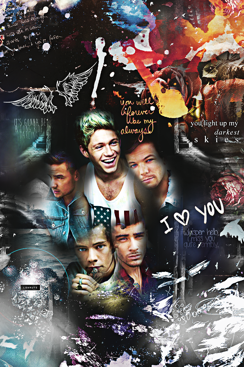 Tumblr collages one direction images amp pictures becuo - One Direction Wallpaper Tumblr 2014 One Direction Iphone 4