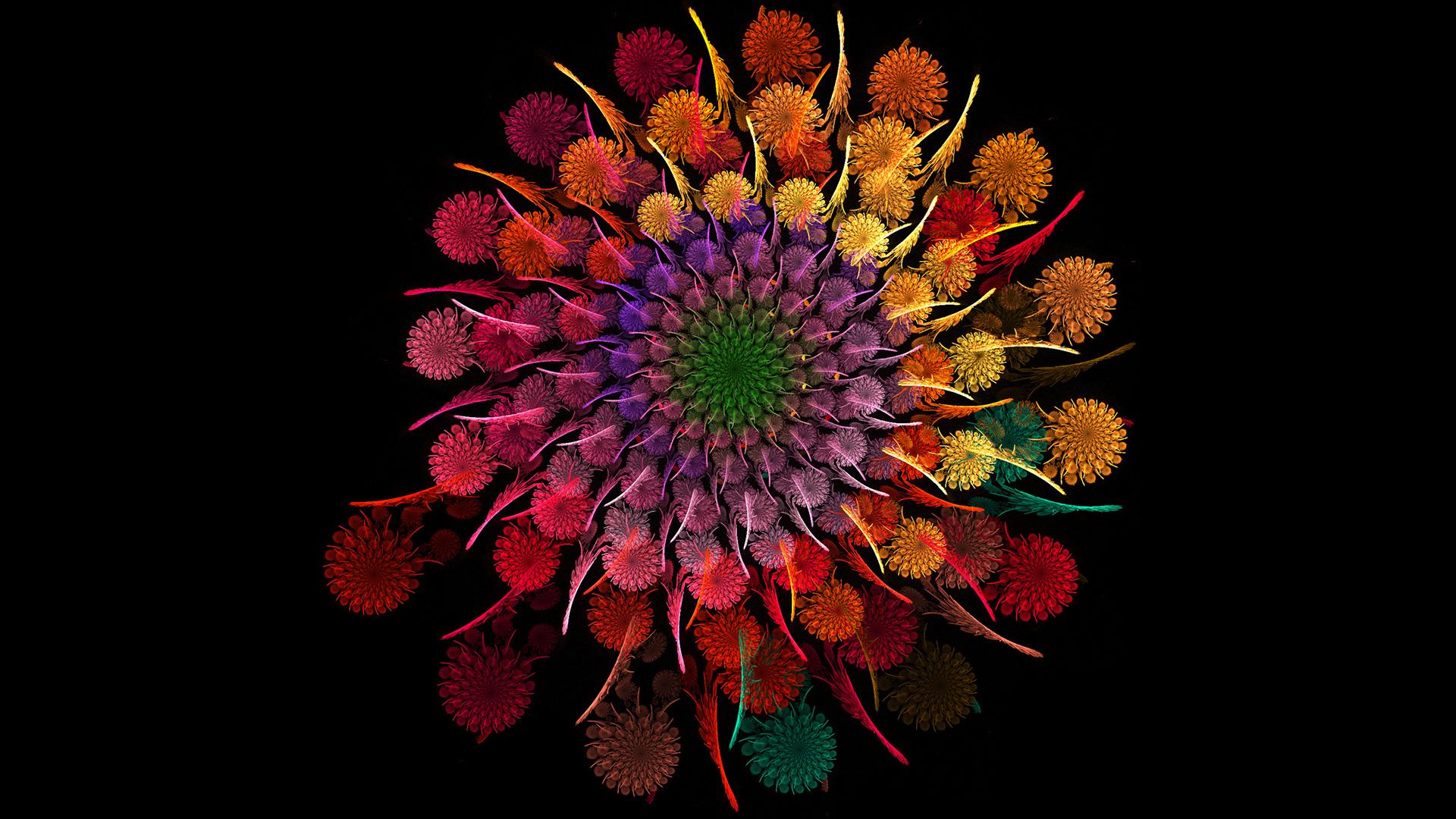 [44+] Widescreen Desktop Wallpaper Dark Flower on ...