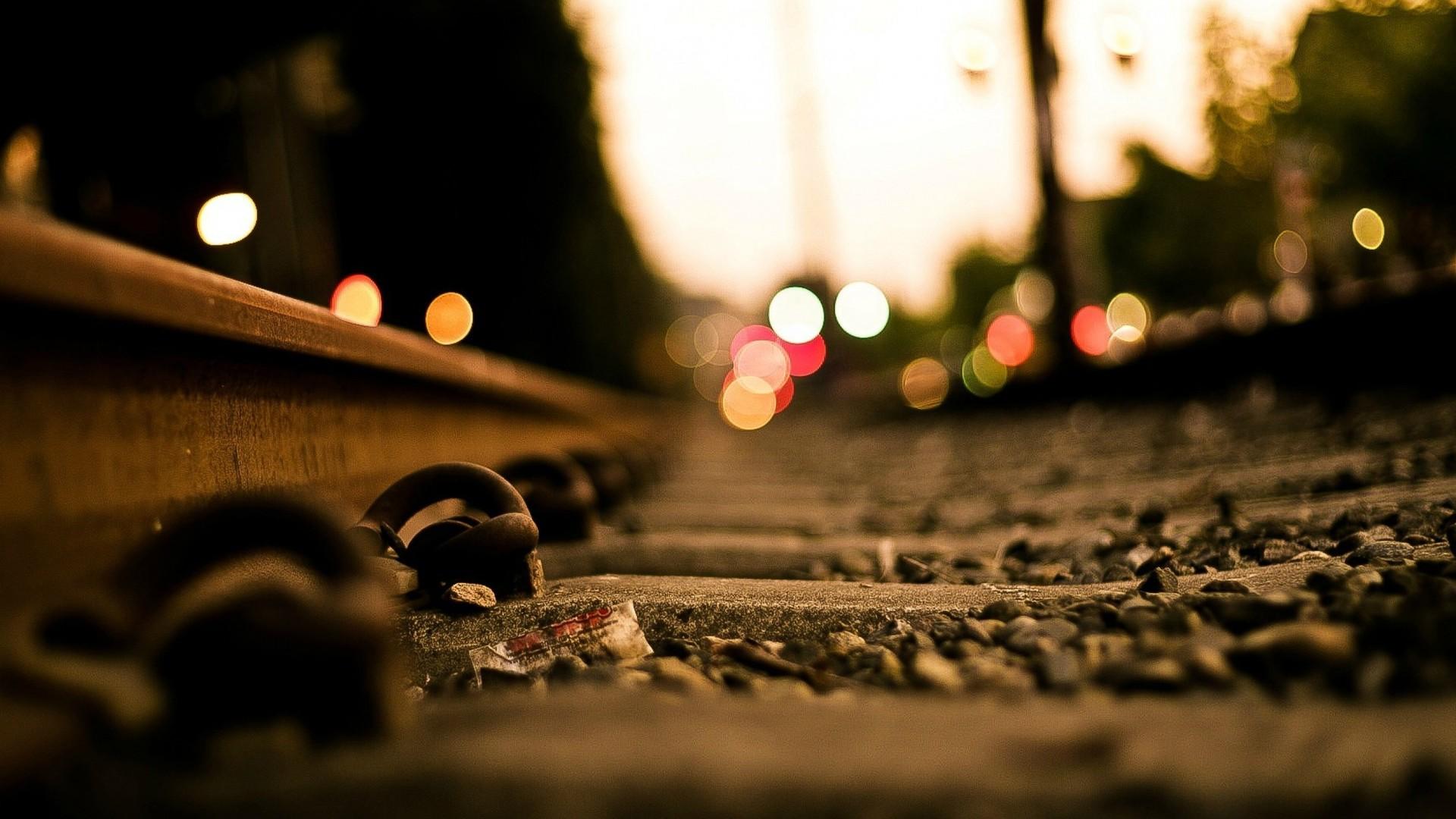 Railroad tracks Wallpaper 2541 1920x1080