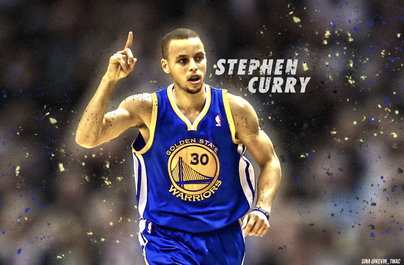 Stephen Curry Golden State Warriors Wallpaper 1562x1024