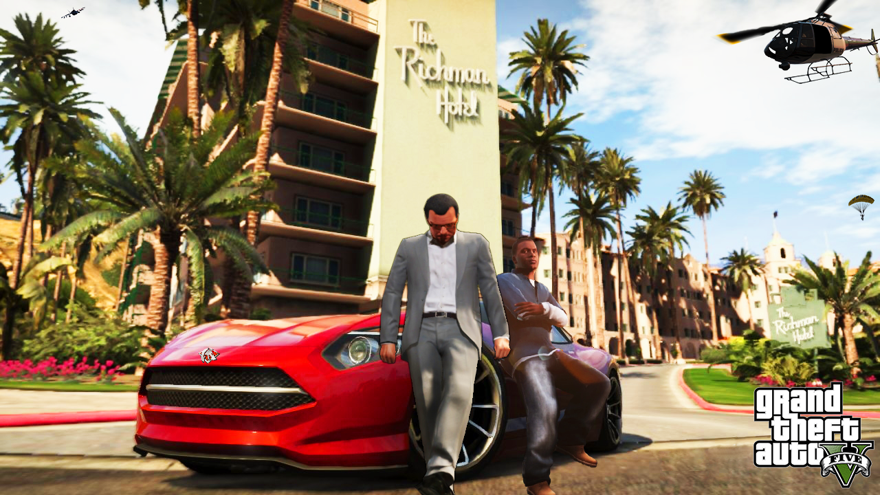 Grand Theft Auto 5 Wallpapers Sizzlingwallpapers   Part 2 1280x720