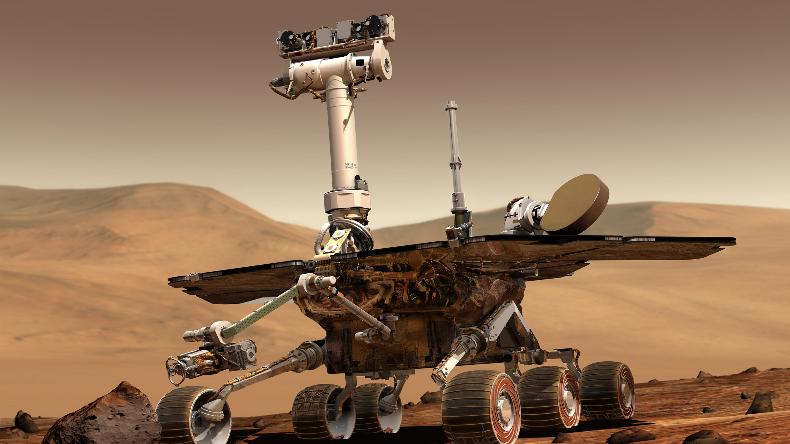 NASA Opportunity Rover [2560x1440] wallpapers 2560x1440