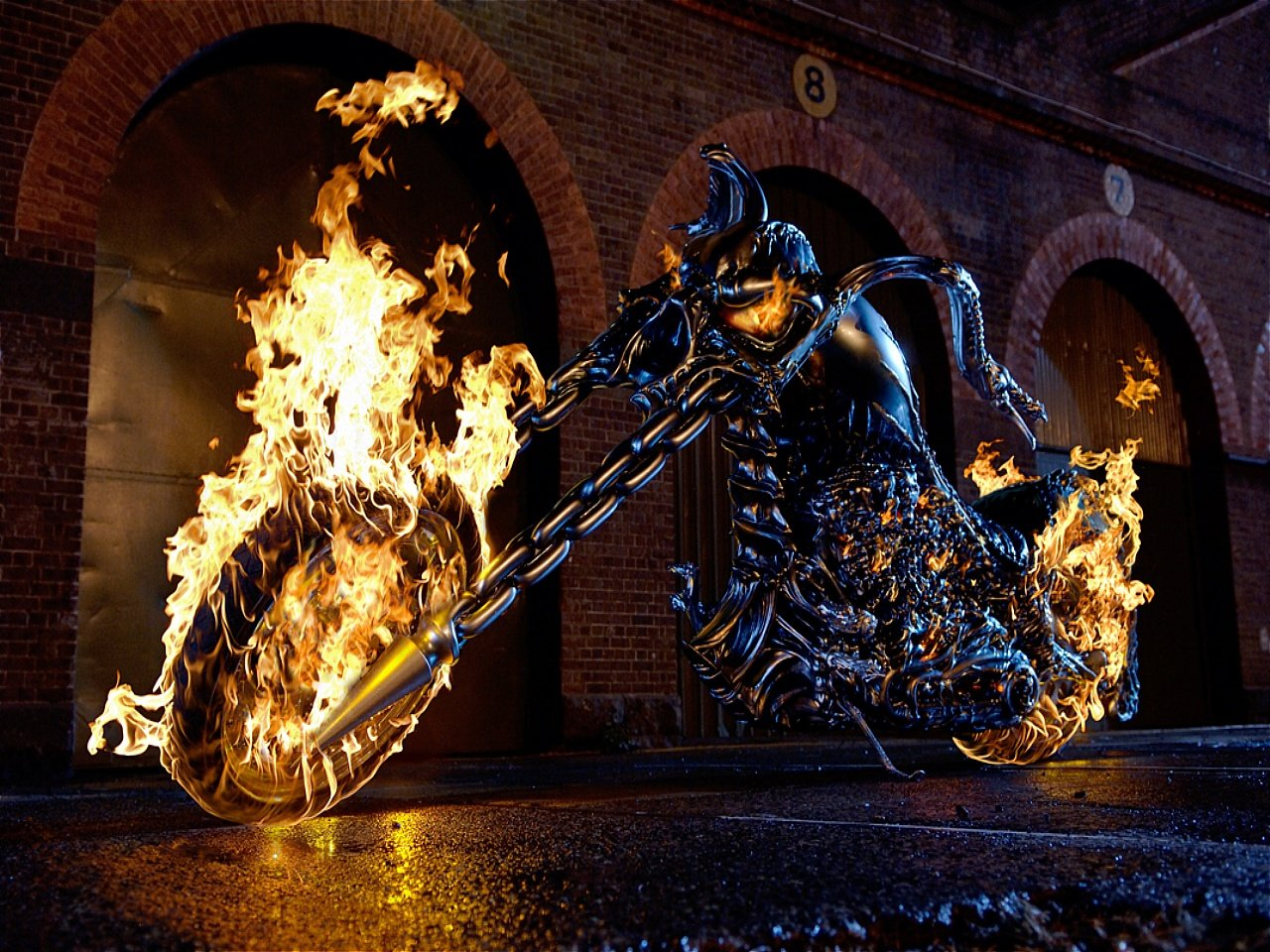 Download Ghost Rider 2 Wallpapers Pictures Photos and Backgrounds 1280x960