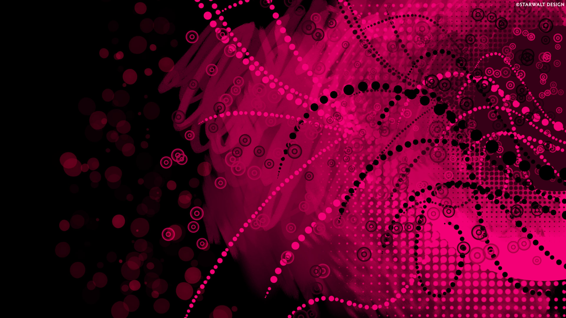 Pink And Black Wallpaper Hd   LiLzeu   Tattoo DE 1920x1080