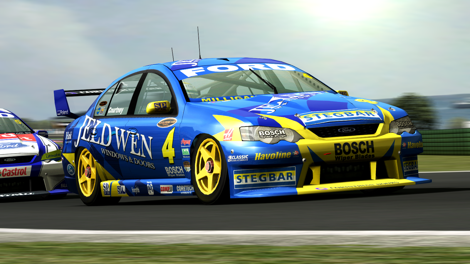V8 Supercar Wallpapers 1600x900
