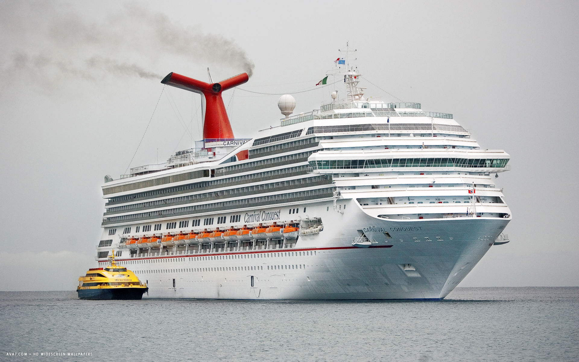 carnival conquest cruise ship hd widescreen wallpaper cruise ships 1920x1200
