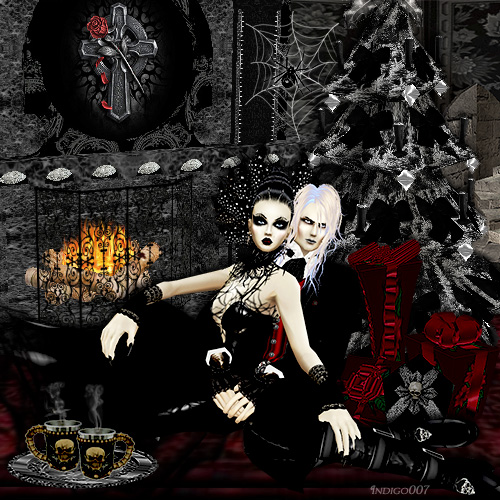 [49+] Gothic Christmas Wallpaper On WallpaperSafari