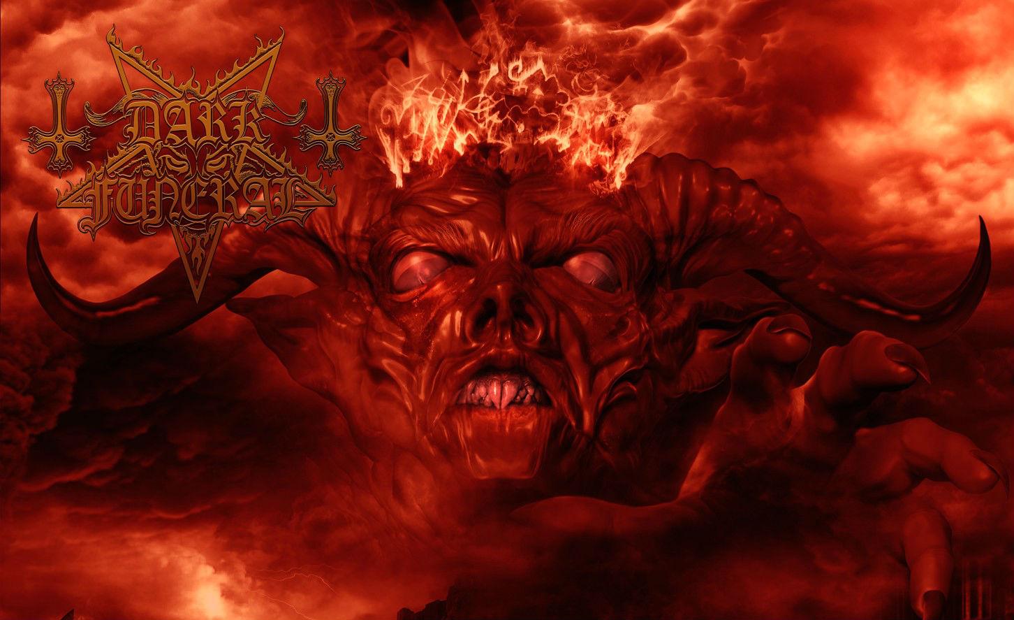 Dark Funeral Satanic Satanism Satan Baphomet Demon Occult Wallpaper 1452x887
