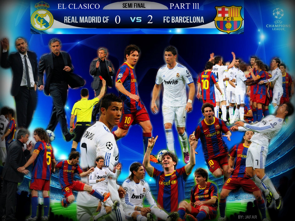 Barcelona Vs Real Madrid HD Wallpapers 2012 2013 1024x768