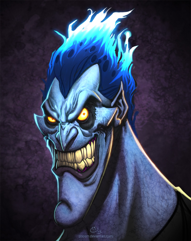 Disney Villains Hades by NicChapuis 800x1010