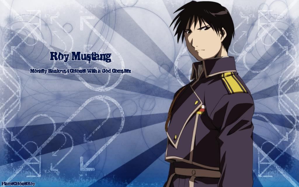 Roy Mustang Background   Roy Mustang Wallpaper for Desktop 1024x640