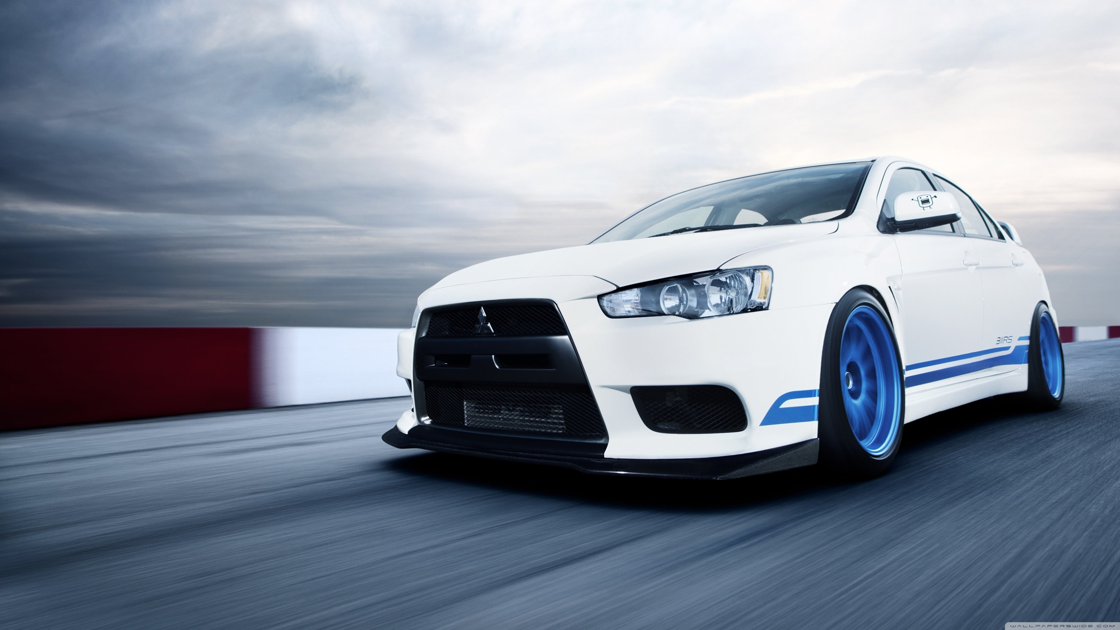 Aircraft military vehicles Mitsubishi Lancer Mitsubishi Evo 3840x2160