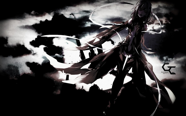 Dark anime girl wallpaper wallpapersafari - Wallpaper dark anime ...