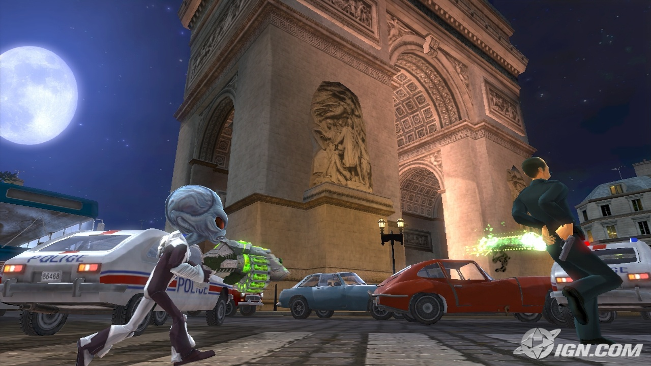 Destroy All Humans Path of the Furon best wallpaper Top Game 1280x720