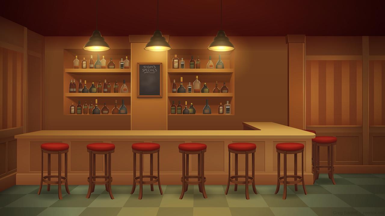 Free Download Bar Background Art By Zeedox On Newgrounds 1280x720