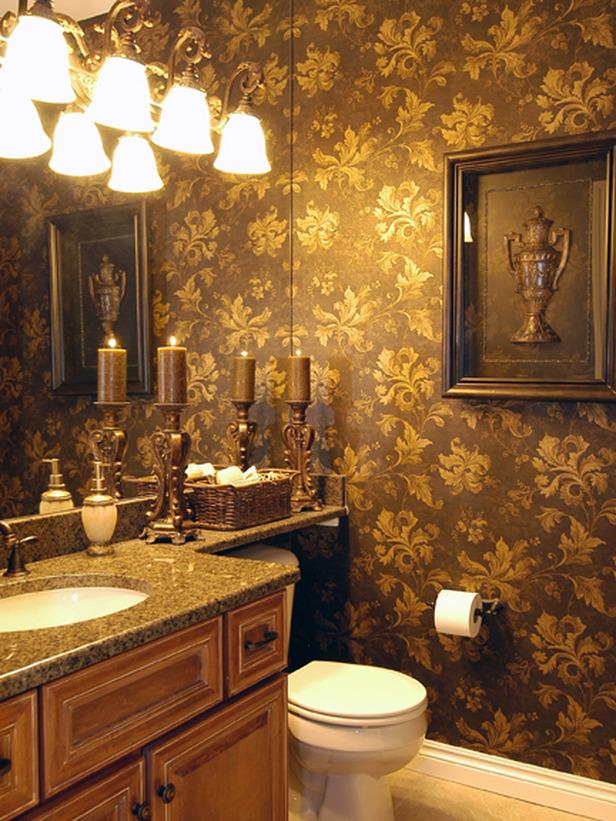 Brown Bathroom 616x821