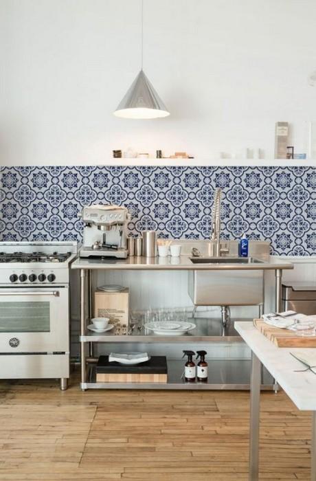 Morrocan tile kitchen 460x700