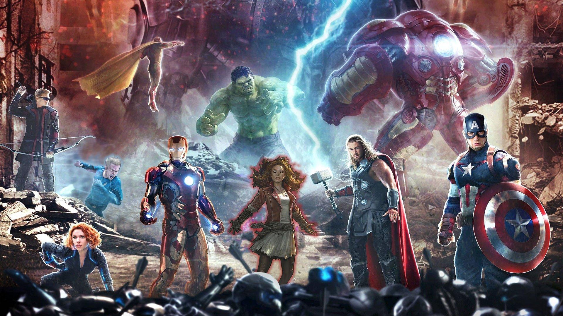 Free Download Avengers Age Ultron Marvel Superhero Action