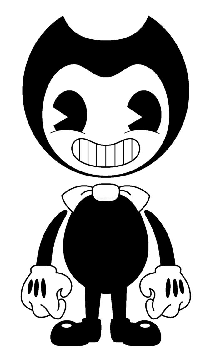Transparent Bendy Image by L8andraw87 Thanksgiving Bendy the 691x1157
