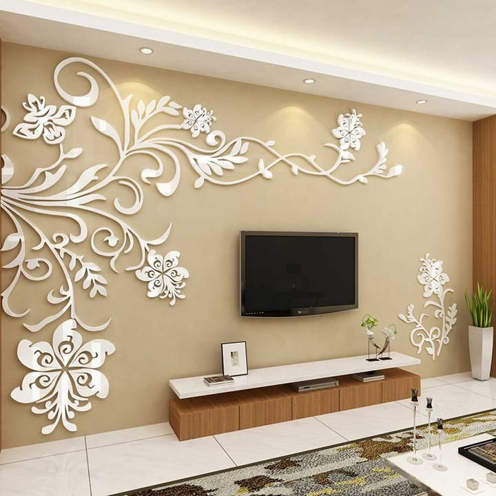 Acrylic Background Wall Stickers Wall stickers home decor Wall 720x720