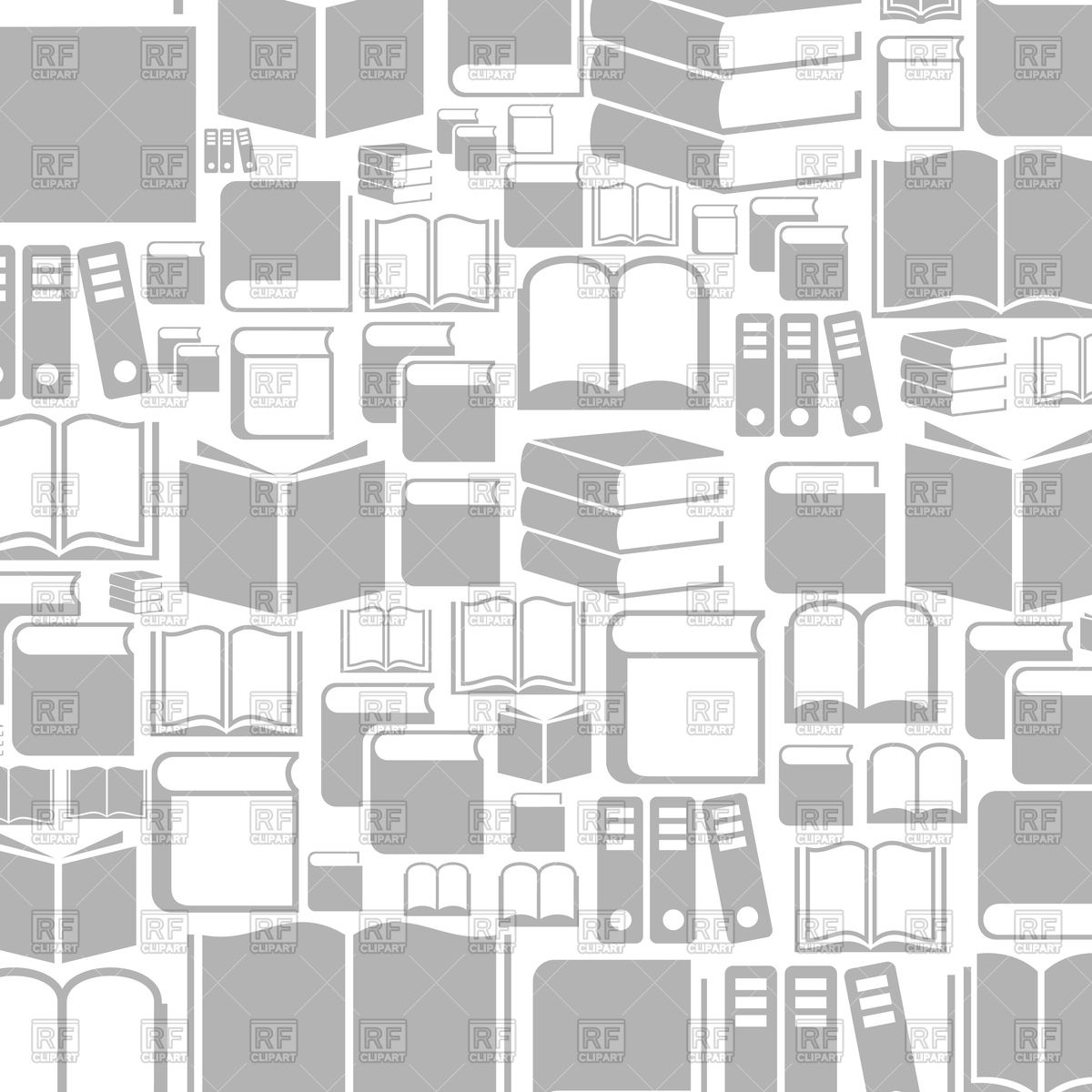 Background with books Vector Image of Backgrounds Textures 1200x1200