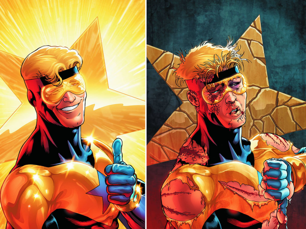 Booster Gold Wallpaper 5   1280 X 924 stmednet 1024x768