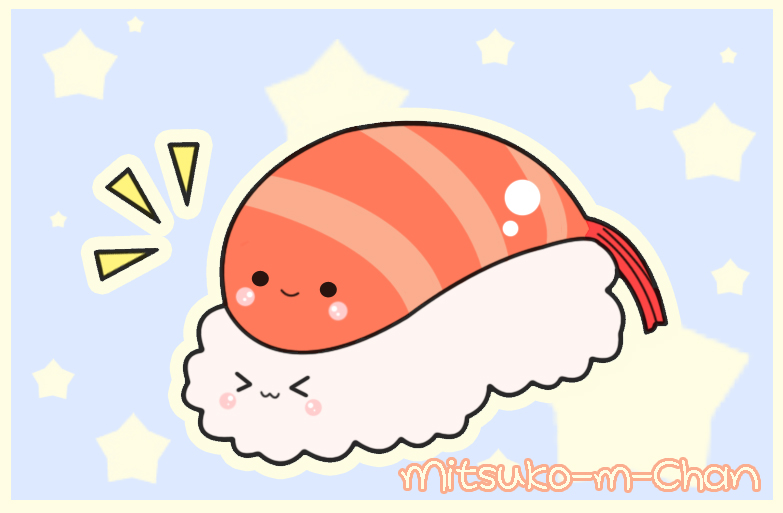 Kawaii Sushi by Mitsuko m Chan 783x513