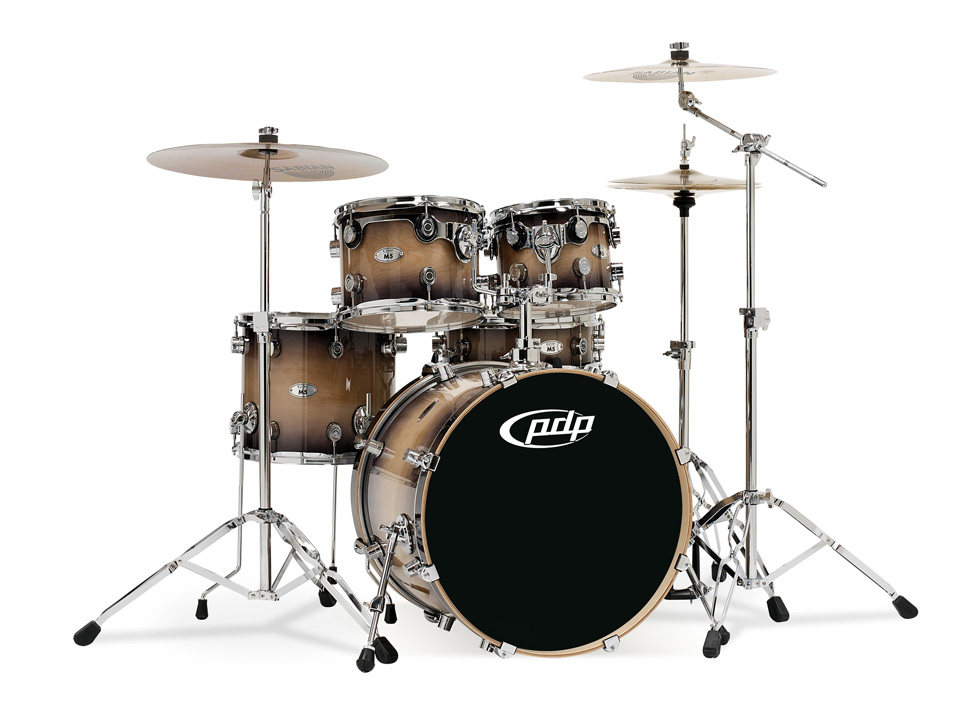 PDP Kits   Pacific Drums and Percussion M5 Series   Lacquered Natural 972x708
