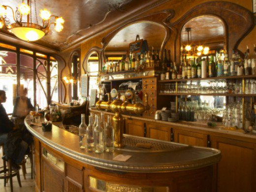 is a wonderful example of Art Nouveau Period Decor in Paris France 520x390
