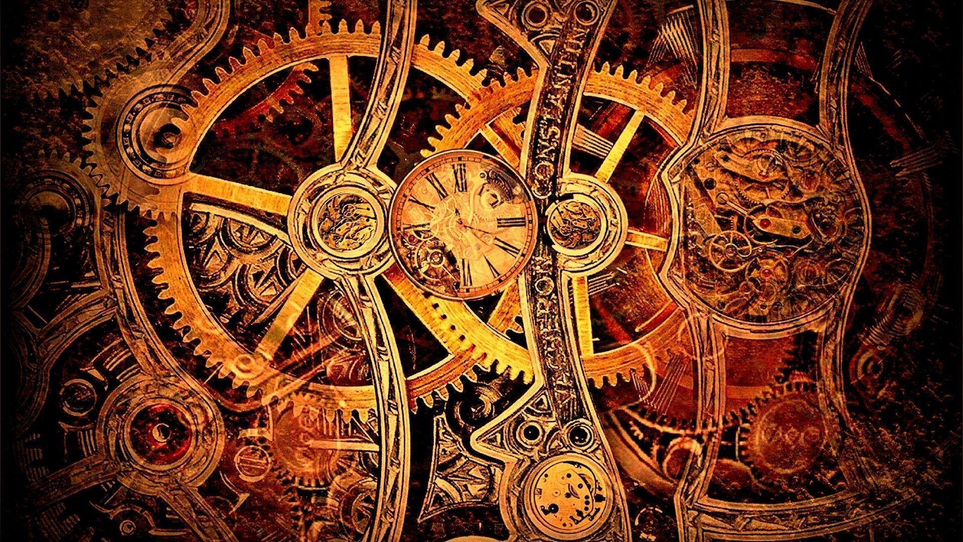 75 Steampunk Wallpaper Hd On Wallpapersafari