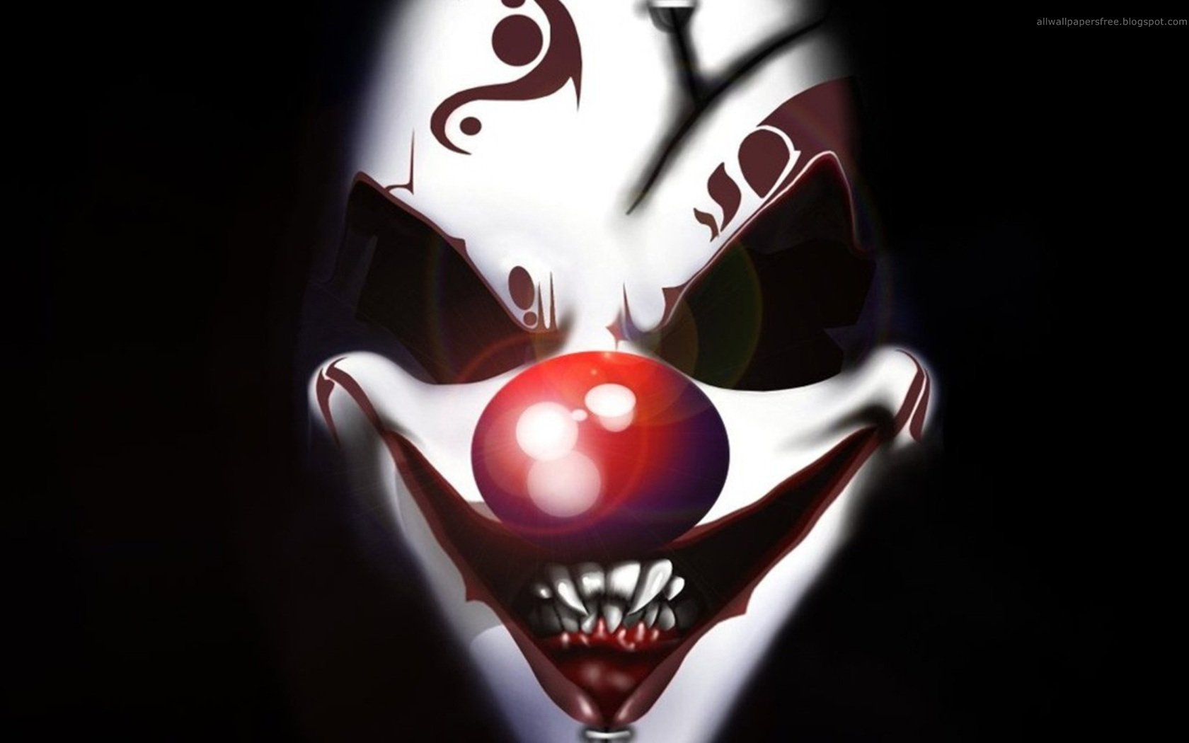 Very Scary Clown Wallpapers Very Scary Clown Myspace Backgrounds 1680x1050