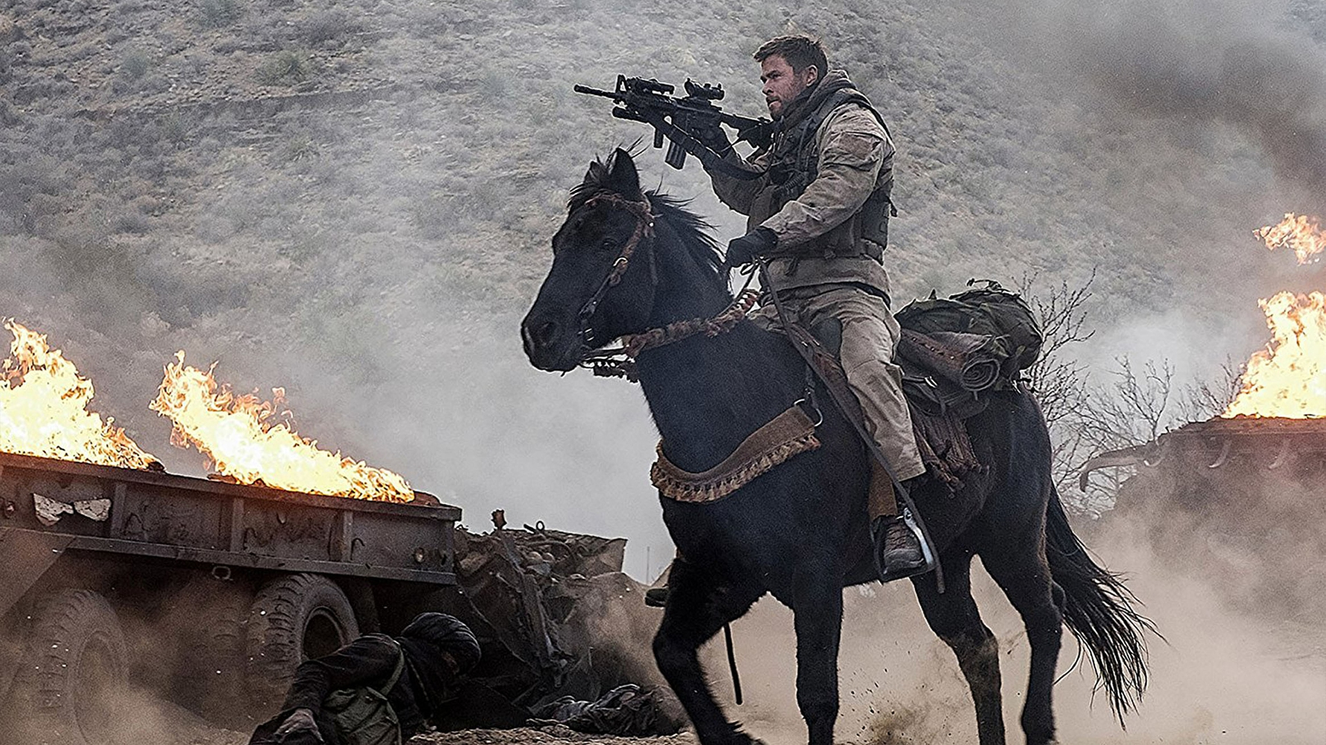 12 Strong 2018 [Movie] Wallpaper HD 1920x1080