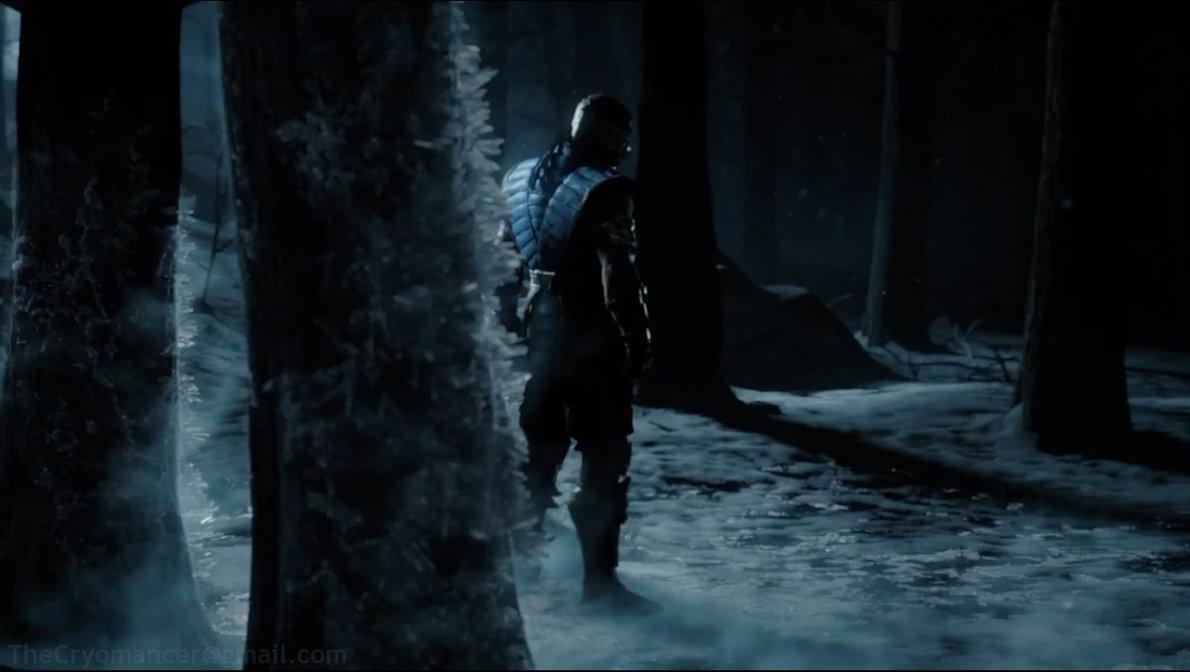 Mortal Kombat X   Sub Zero by minol 1190x672