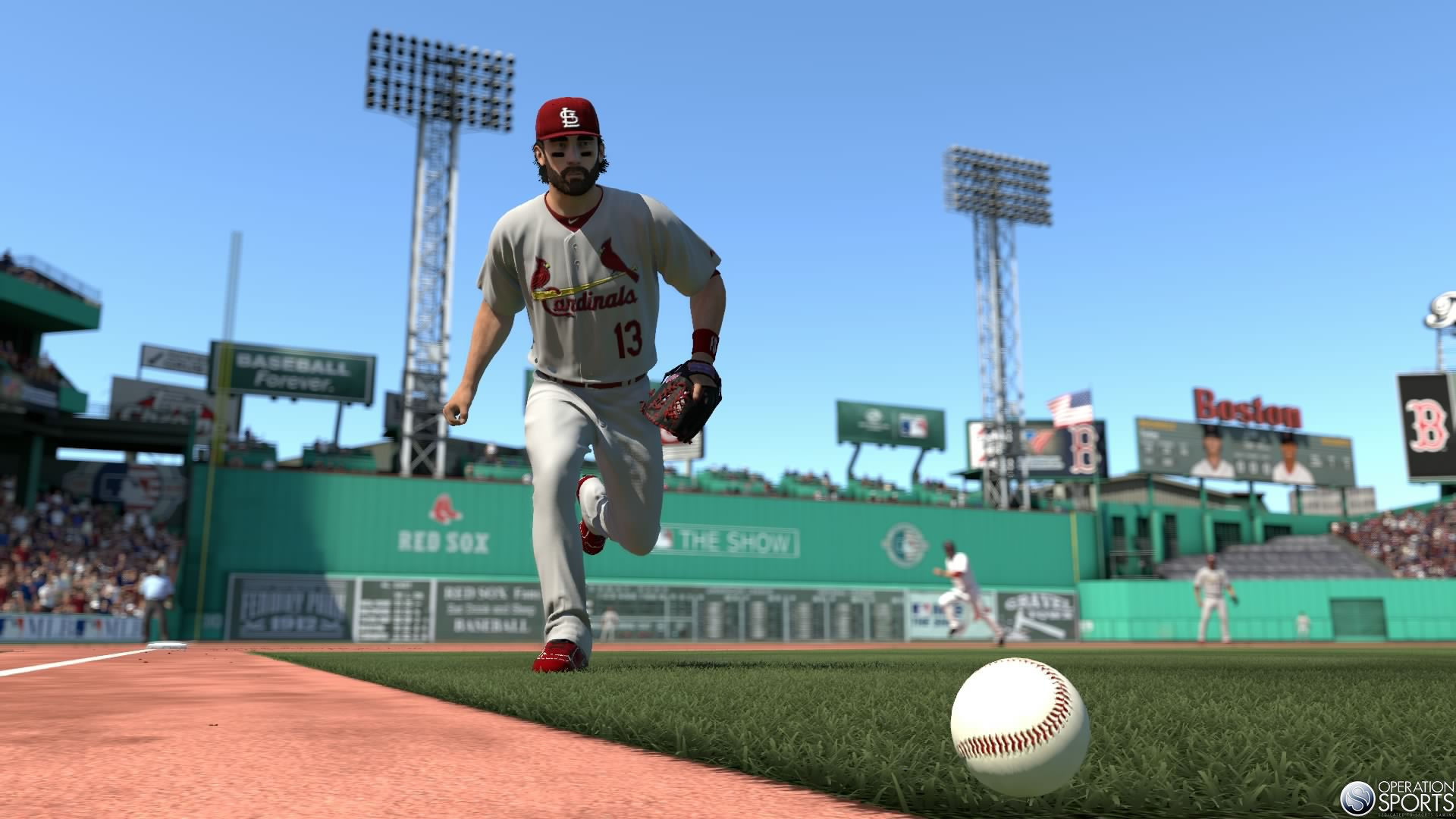 MLB 14 The Show Exclusive Screenshot PS4   Matt Carpenter 1920x1080