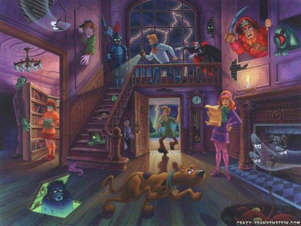 scoobys haunted mansion wallpaper   Scooby doo Wallpaper 1024x768