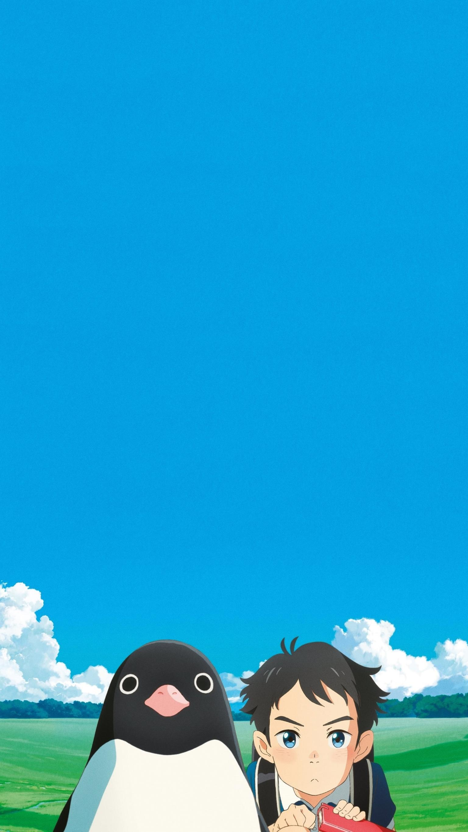 Penguin Highway 2018 Phone Wallpaper Moviemania 1536x2732