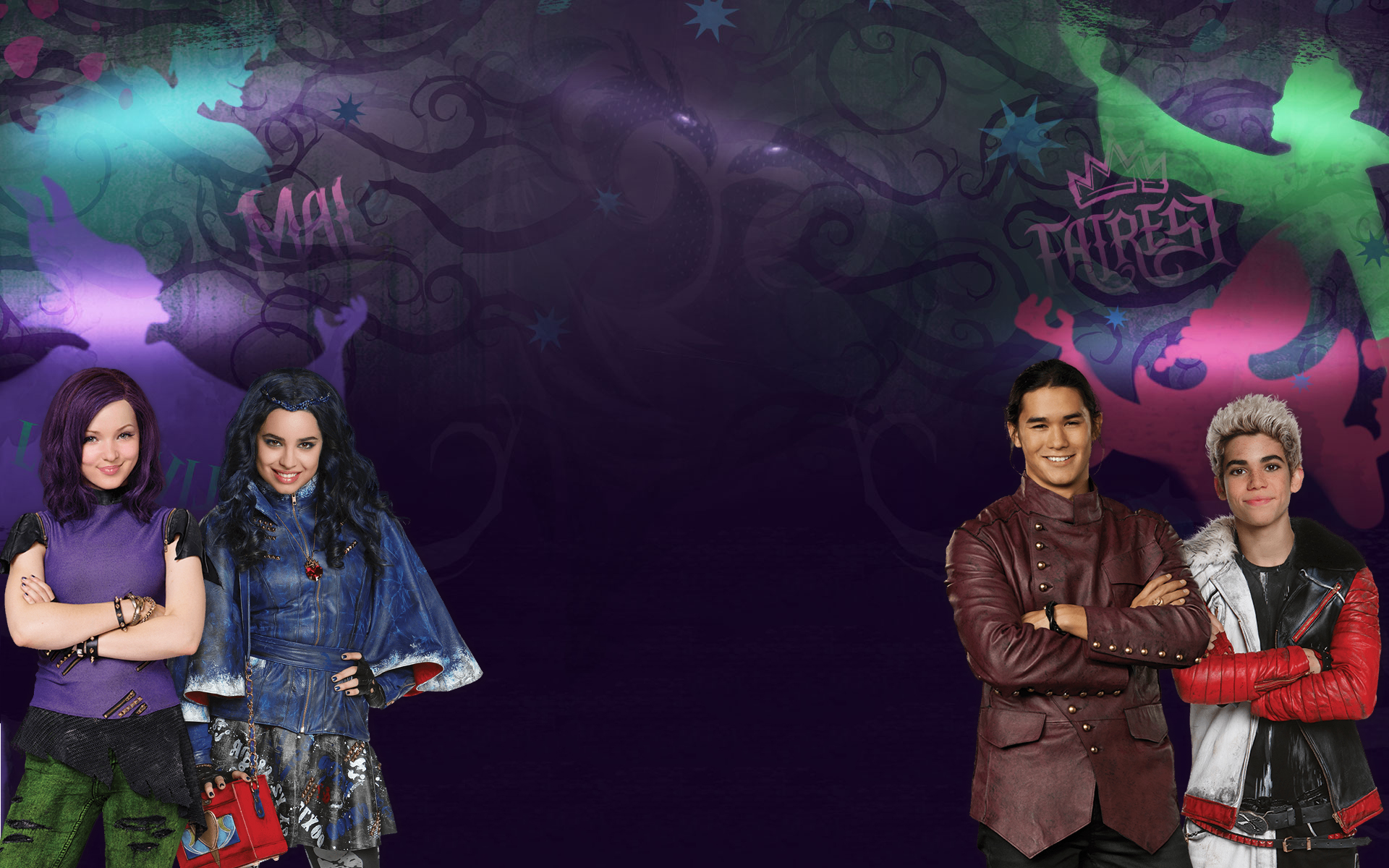 disney descendants wallpapers   wallpapersafari