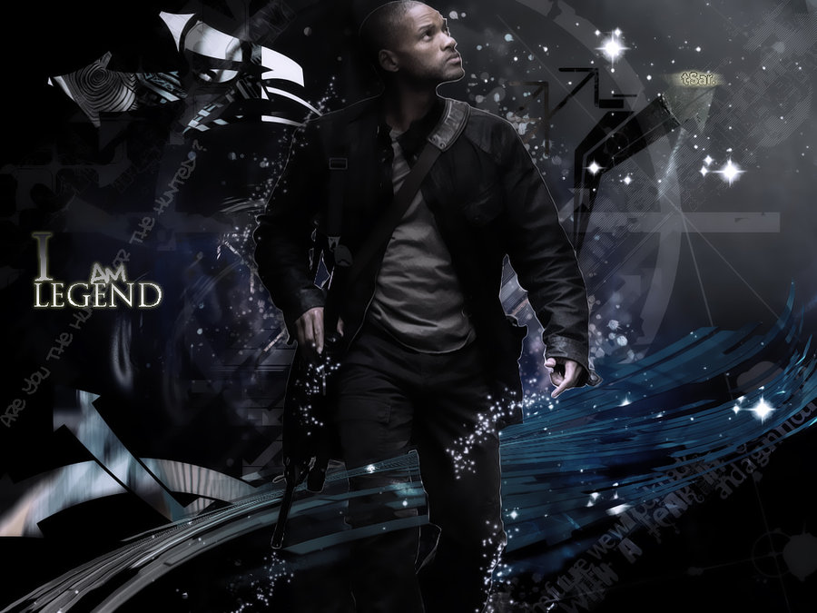 am LEGEND Wallpaper by tSarCS 900x675