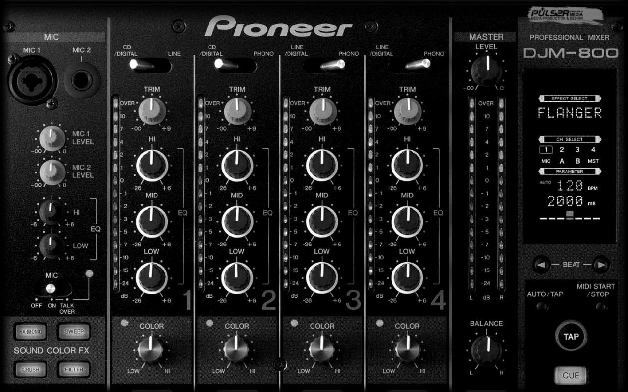 Pioneer dj wallpaper desktop wallpapersafari - Pioneer wallpaper ...